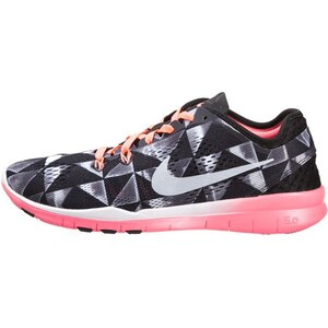 Nike Performance FREE 5.0 TR FIT 5 Trainings / Fitnessschuh black/white/lava glow