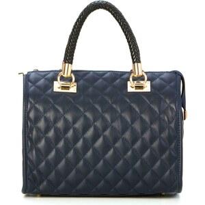 Pia Sassi Lederhandtasche - blau