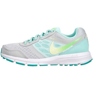 Nike Performance AIR RELENTLESS 4 Laufschuh Dämpfung grey mist/liquid lime/poison green/aritsan teal