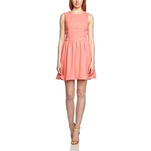 ONLY Damen Cocktail Kleid 15096473, Knielang, Einfarbig