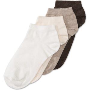C&A Damen 4er-Pack Socken in braun von Canda