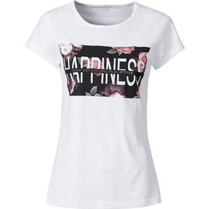 RAINBOW T-Shirt in weiß für Damen von bonprix