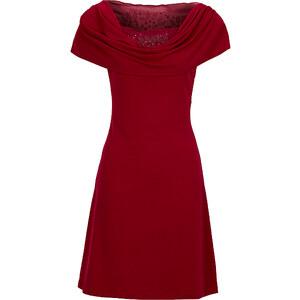 BODYFLIRT Shirtkleid/Sommerkleid in rot von bonprix