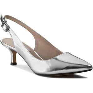 Sandalen CLARKS - Aquifer Belle 261054505 Silver Metallic