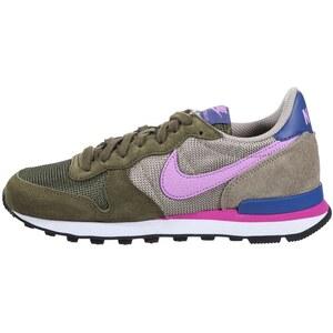 Nike Sportswear INTERNATIONALIST Sneaker faded olive/fuchsia glow/bamboo/blue legend
