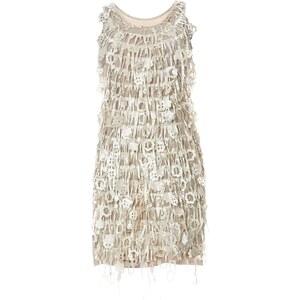 Or Collection Kleid mit geradem Schnitt - beige