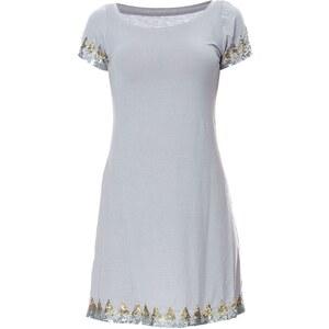 Or Collection Kleid mit fließendem Schnitt - grau