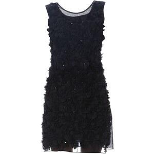 Or Collection Kleid mit kurzem Schnitt - schwarz