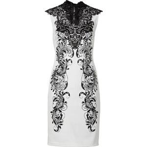 BODYFLIRT boutique Kleid/Sommerkleid ohne Ärmel in weiß von bonprix