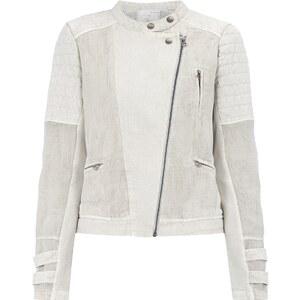YAYA Biker-Jacke aus reiner Baumwolle