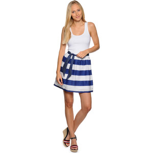 Tommy Hilfiger Femi sn knit dress Damen Kleider XL weiß/blau