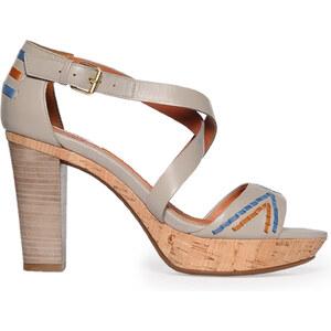 Geox Sandaletten Damen 41 grau