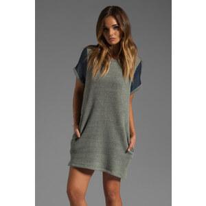 Riller & Fount Roberta Short Sleeve Tunic in Gray