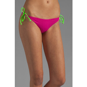 Basta Surf Raglan Reversible Bikini Bottom in Fuchsia