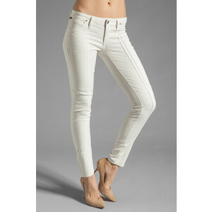 Citizens Of Humanity Logan Lowrise Moto Skinny in Ivory