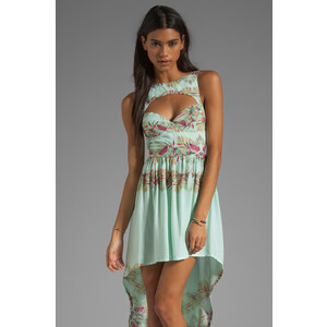 This is a Love Song Marina Del Ray Dress in Mint