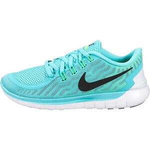 Nike Performance FREE 5.0 Laufschuhe Natural Running light aqua/black/light retro/green glow