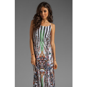 Clover Canyon Stop Traffic Dress in White