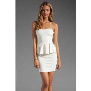 Talulah Spirit of the Wind Peplum Dress in White