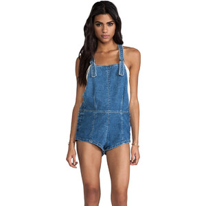 Friend of Mine Susie Blue Overalls in Levi Blue