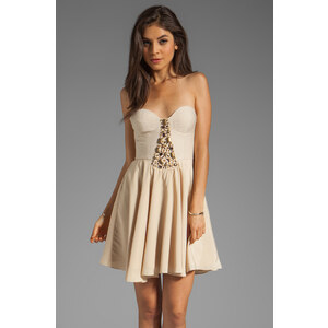 Ladakh To Wonderland Dress in Beige