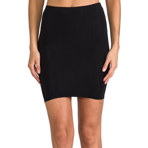 Yummie Tummie Colleen Skirt Slip in Black