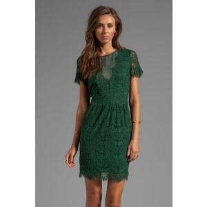 Dolce Vita Saurus Eyelash Lace Dress in Green