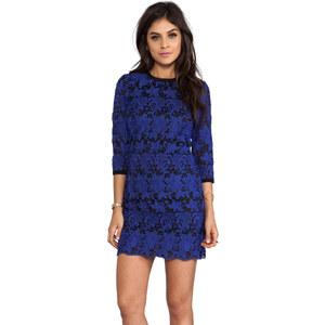 Dolce Vita Amita Pop Out Lace Dress in Blue