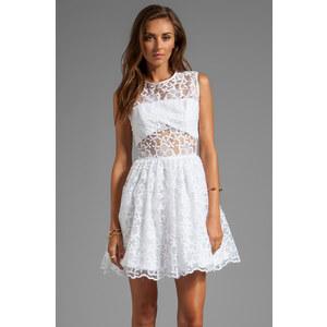 Alexis Finna Short Cocktail Dress in White