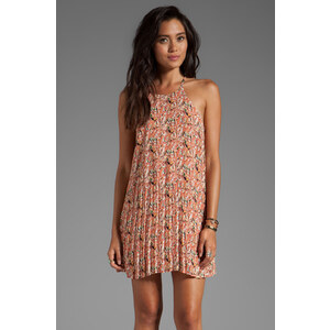 Lucca Couture Printed Tank Dress in Blush
