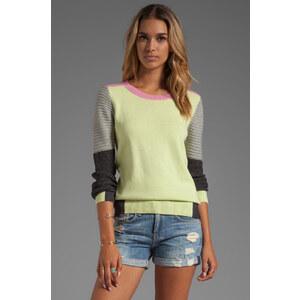 SHAE Moto Sweater in Yellow