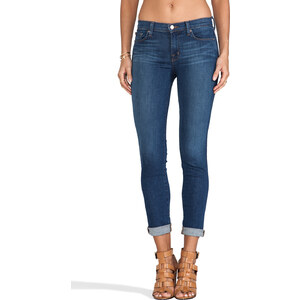 J Brand Midrise Skinny in Pacifica