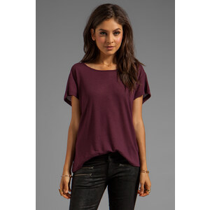 G-Star Sela R Tee in Burgundy
