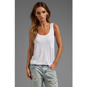 G-Star Loose Tank in White