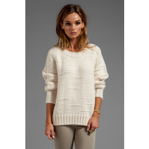 By Malene Birger Autumn Alpaca Purlisha Sweater in Cream