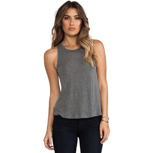 Splendid Drapey Lux Tank in Gray