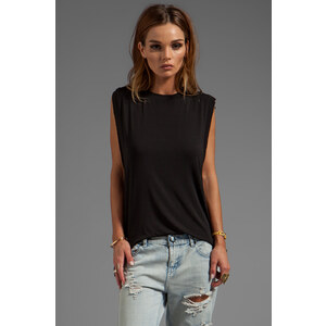 Riller & Fount Alex Muscle Tee in Black