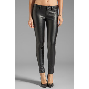 BLANKNYC Vegan Leather Skinny in Black