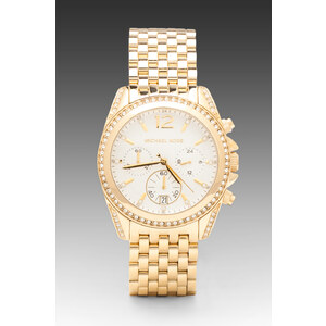 Michael Kors Pressley in Metallic Gold
