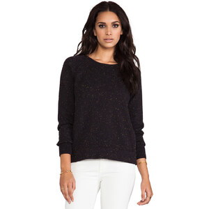 LNA Confetti Sweater in Black