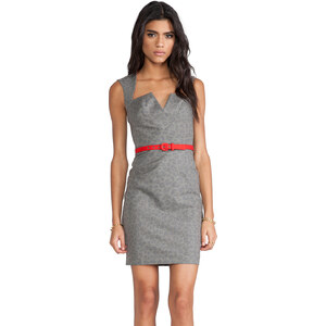 Black Halo Laurence Mini in Gray