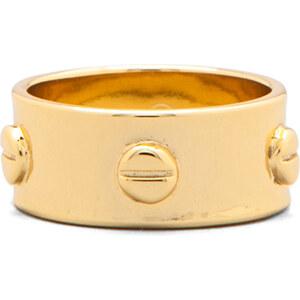 Gorjana Chaplin Ring in Metallic Gold