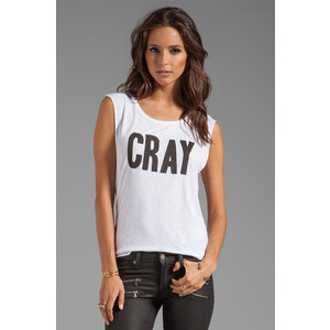 Feel the Piece CRAY Tank in White