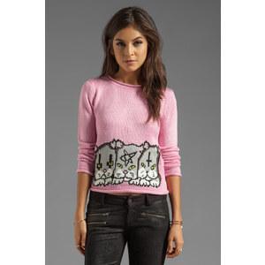 UNIF Meowtal Sweater in Pink