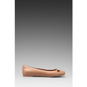Marc by Marc Jacobs Mouse 10mm Ballerina Flat in Mauve