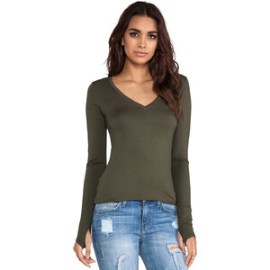 Feel the Piece Viper Top in Army