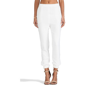 By Malene Birger Sexy Stretch Cosyh Pant in White