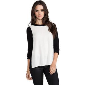 Ella Moss Portia Long Sleeve Top in Black