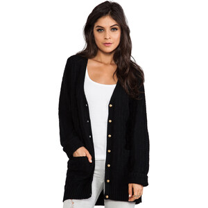 Lovers + Friends Be Better Cardigan in Black