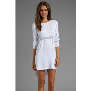 Style Stalker Nothing But Net Dress in White